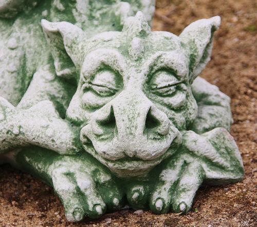 Antérieur Dragon de steinguss pour jardin au gel personnages nouveau mystique po-427