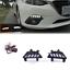 1set LED Daytime Running Light DRL Lamp Turn Signal For Mazda 3 Axela 2014-2016