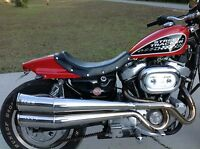 Harley Davidson Sportster, Street Tracker Seat, Flat Track Seat, Cafe Seat.