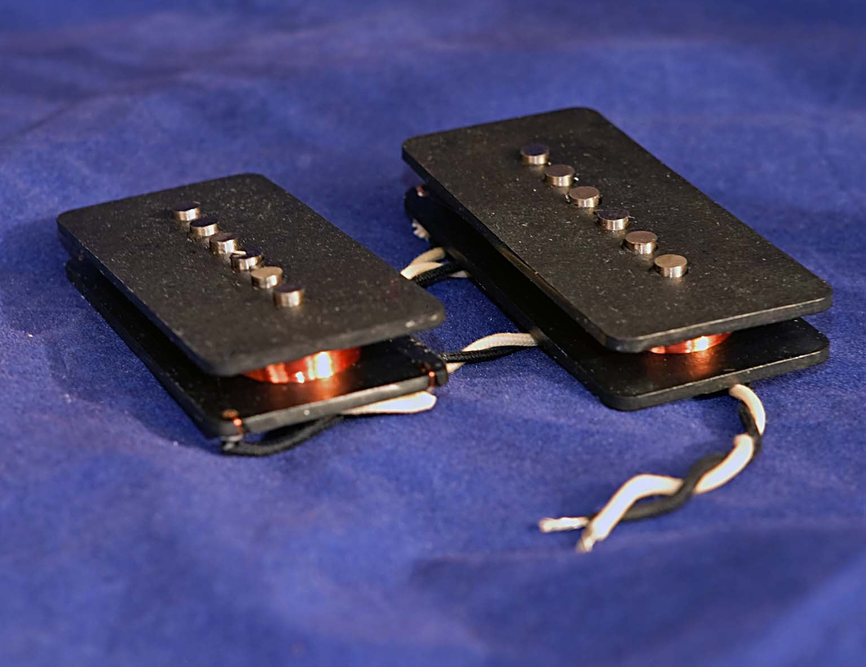 Bloodstone Jazzmaster Pickup Set, Handwound in the UK