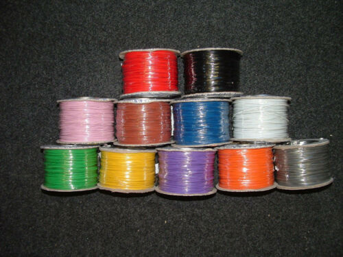 13M Mixed Pack Equipment Wire 16/0.2mm Strand Electronic Electric Cut Length