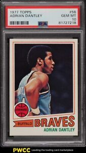 1977 Topps Basketball Adrian Dantley ROOKIE RC #56 PSA 10 GEM MINT