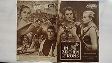 M05- Filmprogramm IFB Nr.4969 IM ZEICHEN ROMS /Nel Segno Di Roma Anita Ekberg