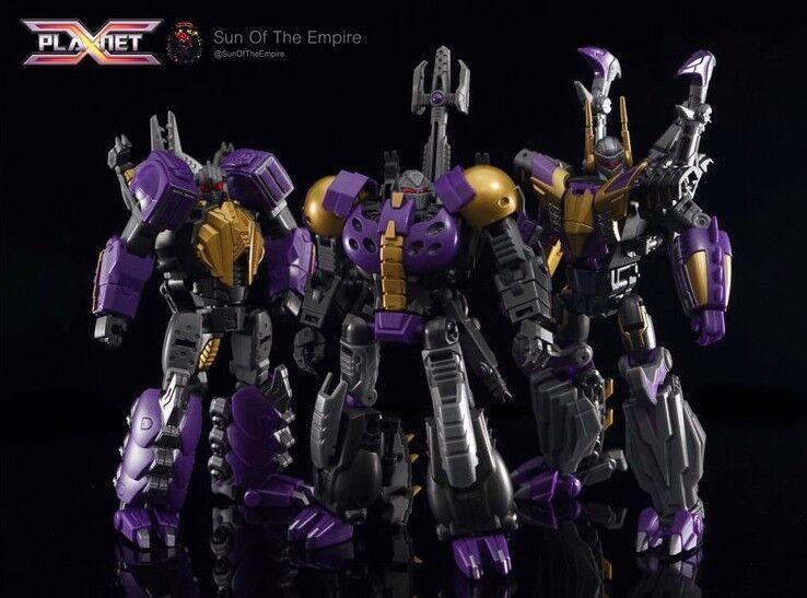 NUOVO PIANETA X Transformers PX17 Morpheus PX18 fobetore PX19 phantasus FOC Set