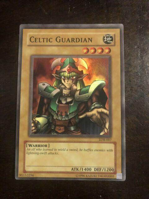 Yu-Gi-Oh Yugioh CELTIC GUARDIAN LOB-007 Super Rare NM