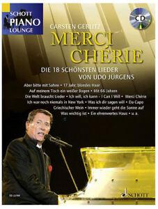 Udo-Juergens-Merci-Cherie-CD-Songbook-fuer-Klavier-mit-Texten-und-Akkorden