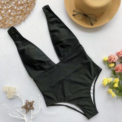 US Women OnePiece Bandage Bikini Push Up Monokini Swimsuit Bathing Suit Swimwear