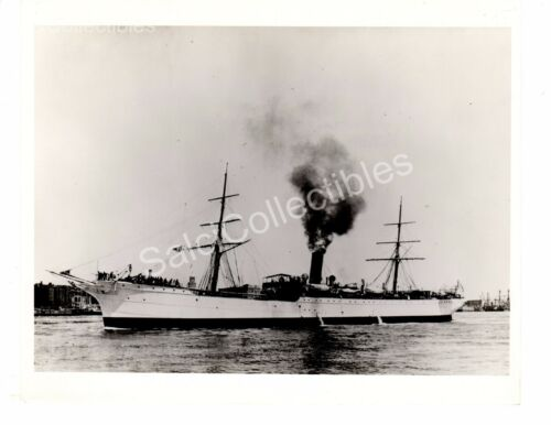 US Navy First Icebreaker Ship Glacier AGB4 Oficial Photo 8x10