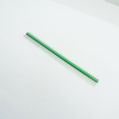 PCB Connector Row of 40 Male Straight Pin 2.54mm Strip Header Copper