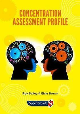 Concentration Assessment Profile by Roy Bailey (CD-ROM, 2013)
