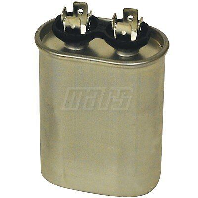 Mars run capacitor 35MFD x 440V Oval Aluminum #12043