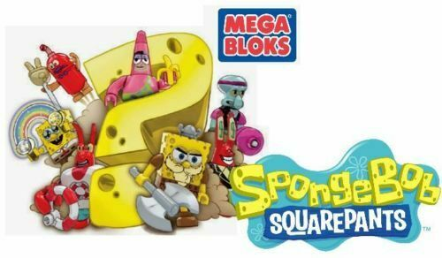 Mega Bloks Spongebob Squarepants Series 3 Gym Squidward,New And Sealed.
