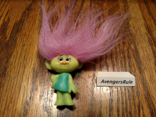 Dreamworks Trolls Hasbro Series 7 Green Skin Pink Hair