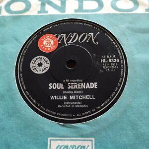 WILLIE-MITCHELL-SOUL-SERANADE-Rare-1968-Australian-PROMO-7-034-Funk-Soul