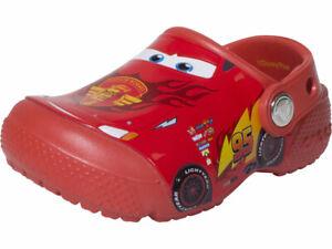 Crocs-Toddler-Little-Kids-Boy-039-s-Girl-039-s-Disney-Pixar-Cars-Clogs-Water-Shoes