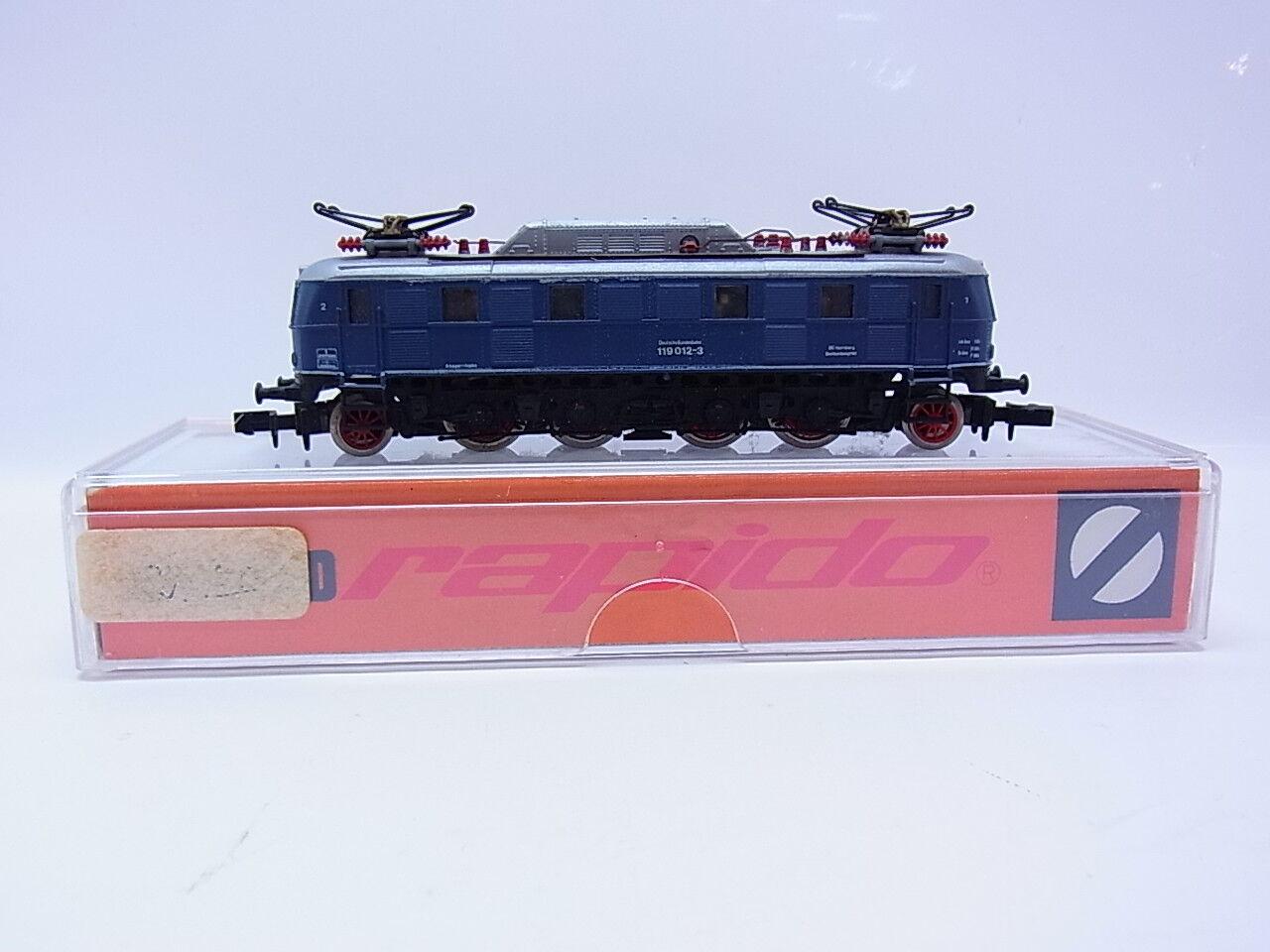 48268 hermosas Arnold 2451 diesellok br 119 de la DB azul listo pista n en OVP