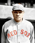 Babe Ruth #4 Photo 8X10 - Boston Red Sox COLORIZED