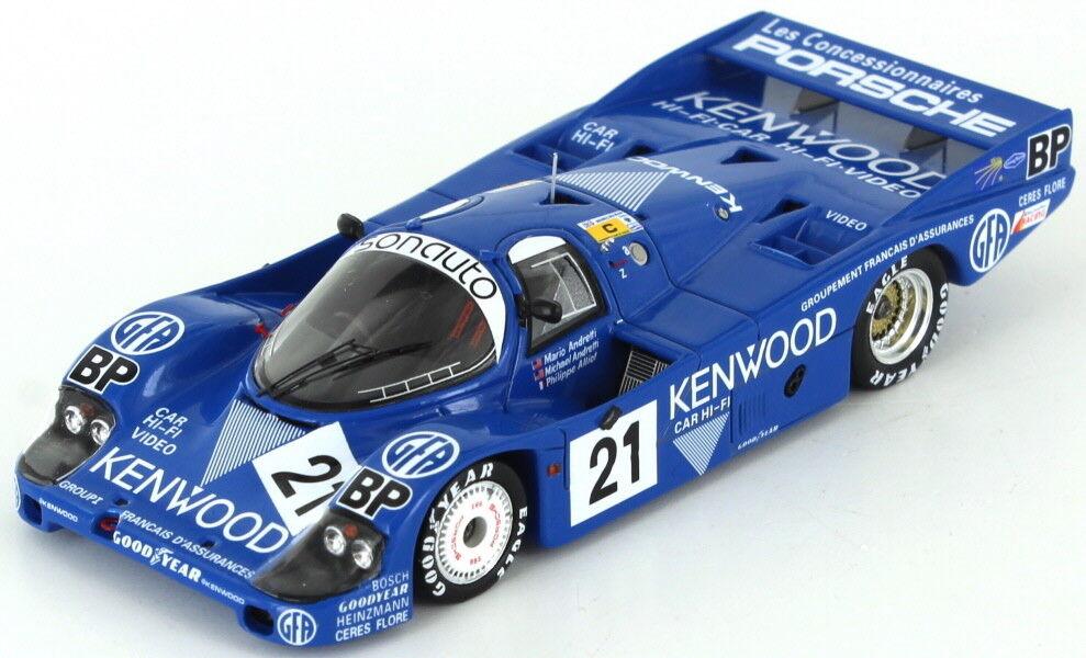 Porsche 956 LH Kenwood Andretti - Alliot Le Mans 1983 1 43 - Spark S5505