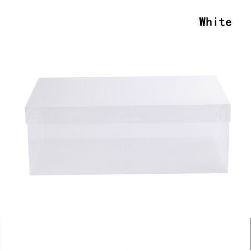 1 Pc Home Storage Box Shoe Box Folding Plastic Drawer Case Finishing Box