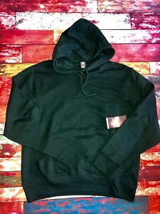 Mens-Xersion-Pullover-Hoodie-Hunter-Green-Cotton-Polyester-New