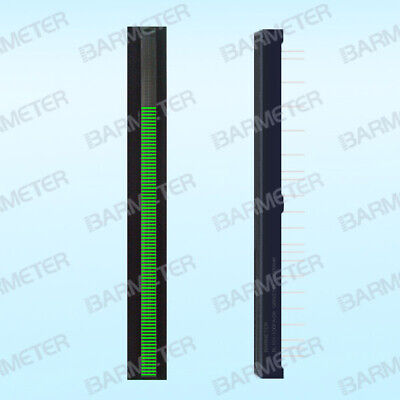 High Emerald Green Relieving Rheumatism Equipment 101seg Led High-precision Linear Array Slim Bargraph Display