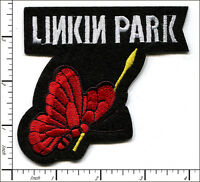 20 Pcs Embroidered Sew Or Iron On Patch Linkin Park Rock 10x9cm Ap056ga