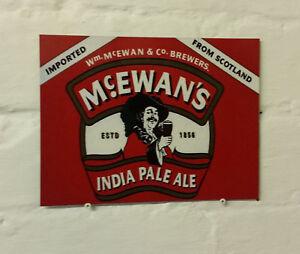 beer sign info Vintage