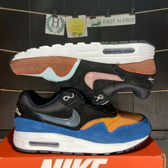 Nike Air Max 1 Deaaron Fox Swipa Kids Youth Size 4.5y Cj9888 001 GS