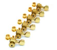 Sperzel Trim-Lok Locking 6 Inline Gold Plated Guitar Tuners/Machine Heads