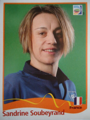 Panini 97 Sandrine Soubeyrand Frankreich FIFA Women/'s WM 2011 Germany