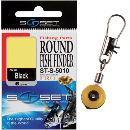 Sunset Round Feeder or Float Fishing Beads or Leger Stops Fishing Tackle Range