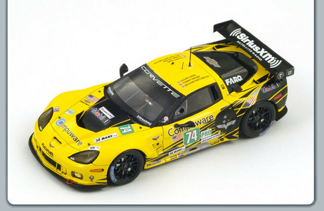 Corvette C6 Zr1 34Th Le Mans 2012 Gavin-Milner-Westbrook 1 43 Spark S3729 Model