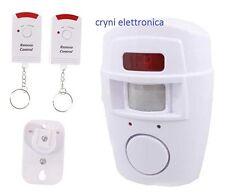 Antifurto casa wireless allarme senza fili con sensore di movimento Pir e sirena