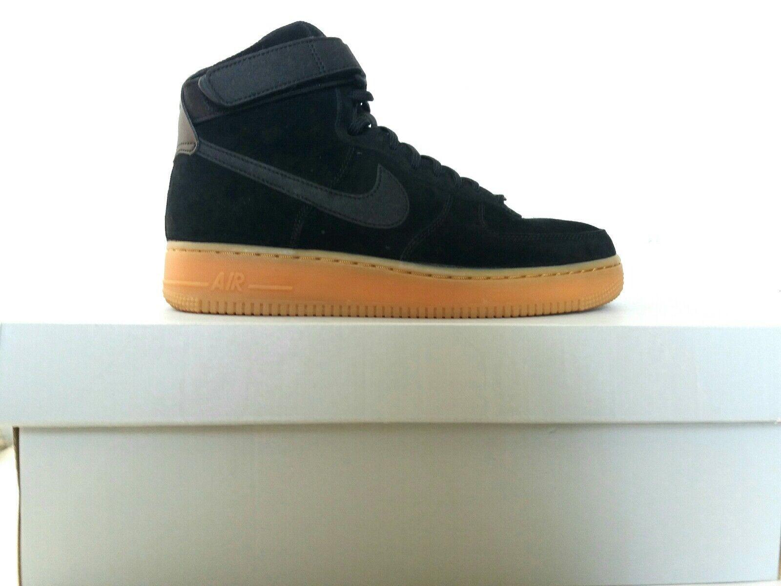 Nike Air Force 1 Black Size UK 7 US 9.5