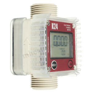Pro-K24-BSP-NPT-Turbine-Digital-Fuel-For-Diesel-Flow-Meter-Chemicals-Counter