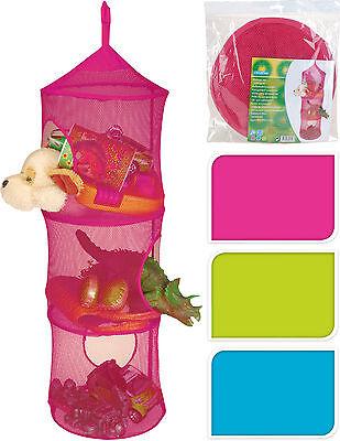 Storage Net Hanging 3 Tier Toy Storage Net Kids Bedroom Storage Teddy Store