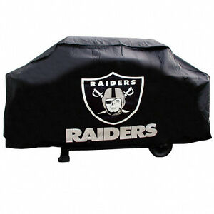 Oakland Raiders Bbq Grill Cover Deluxe Ebay