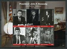 Guyana 2017 MNH JFK John F Kennedy 100th Birthday 5v MS III US Presidents Stamps