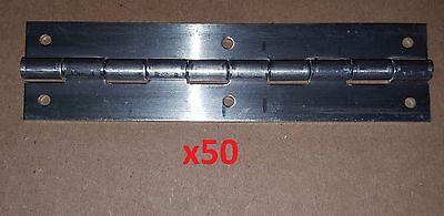 4 pc .062 Aluminum Piano Hinge Door 12 x 2 Door//Boat//Sheet Metal Continuous DIY