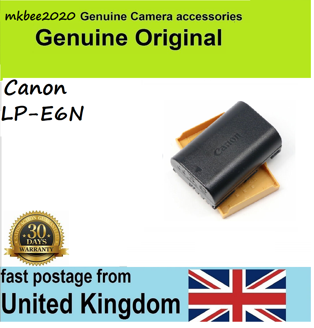 Genuine Canon LP-E6N Battery for EOS 5D2 5D3 6D 60D 70D 7D Mar