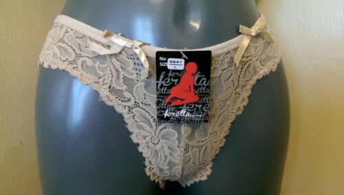 LACE Briefs LADIES WOMEN THONG PANTIES KNICKERS LINGERIE OFFER 5641 //2 FLORAL