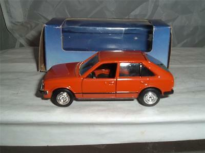 Gama Opel Corsa 1:43 color variations made in Bulgaria