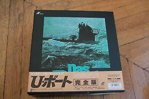 Das-Boot-The-Boat-1981-Laserdisc-LD-JAPAN-WS-CLV-OBI-PILF-7355-Prochnow