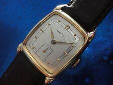 Exquisite Vintage1950 Mans Hamilton*DEXTER* Hand Winding 2 Tone Dial SERVICED!