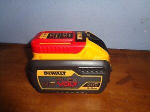 Dewalt Dcb609 20v 60v Flex Volt Max Li Ion Battery Pack 9