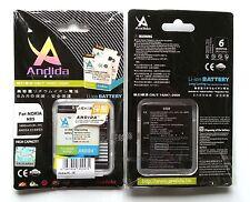 Batteria maggiorata originale ANDIDA 1600mAh x Nokia N81, N85, N86, ORO