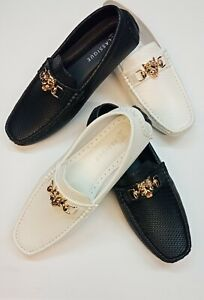 New Men's Italian Style Slip on Wedding Shoes Class Loafer Party Jazz spat Funky