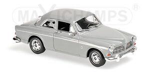 Minichamps-940171000-VOLVO-121-AMAZON-1966-GREY-1-43
