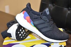 b707057c4d1 Details about ADIDAS ULTRA BOOST 3.0 PRIDE CP9632 RUNNING -D CORE BLACK  UTILITY WHITE
