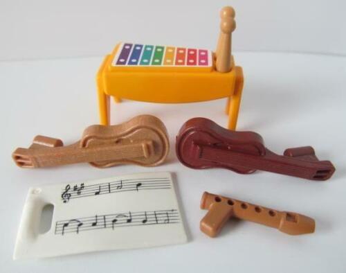 guitars recorder Playmobil School//Dollshouse instruments: Xylophone music NEW